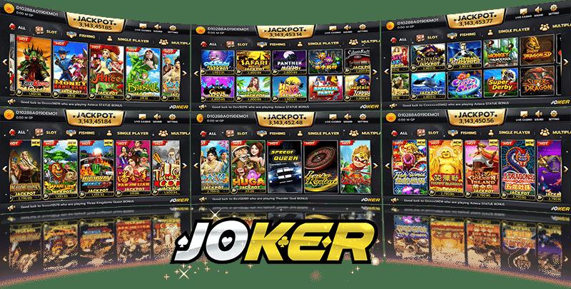 Jokergame สล็อตฟรีเครดิต slot joker ฟรีเครดิต