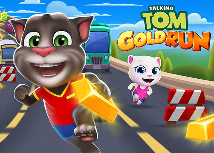เกมส์แมววิ่งเก็บทอง